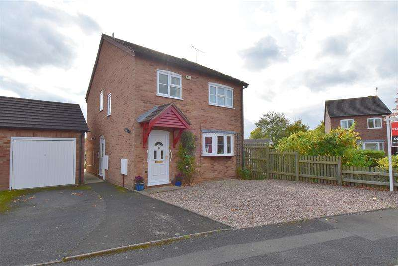 4 Bedrooms Detached House for sale in Wharfedale Crescent, Droitwich