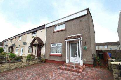 2 Bedrooms End Of Terrace House for sale in Cessnock Drive, Hurlford, East Ayrshire