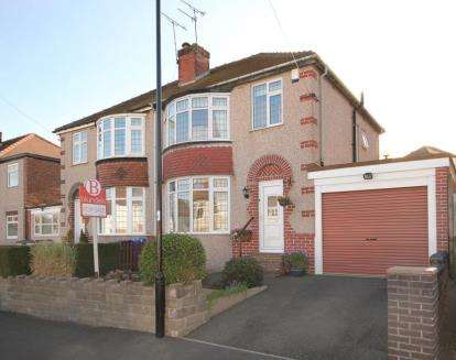 3 Bedrooms Semi Detached House for sale in Old Park Avenue, Sheffield, South Yorkshire