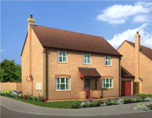 4 Bedrooms Detached House for sale in Plot 41, The Thornbury, Stoke Orchard, Cheltenham, Glos, GL52 7SJ