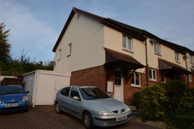 2 Bedrooms Semi Detached House for sale in Queen Elizabeth Drive, Crediton, Devon
