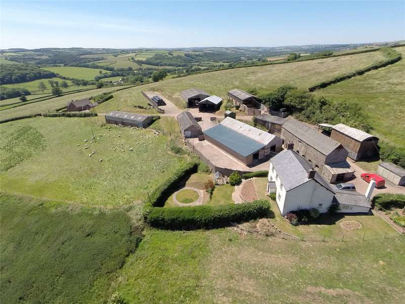 5 Bedrooms Farm Commercial for sale in Fleeds Farm, Clayhanger, Tiverton, Devon, EX16