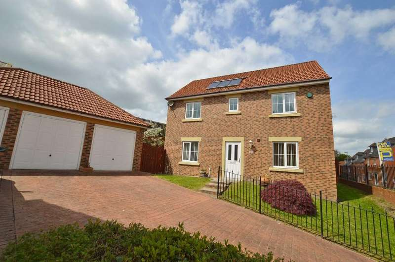4 Bedrooms Detached House for sale in Bells Lonnen, Prudhoe