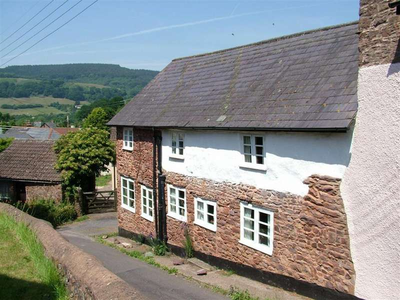 2 Bedrooms Semi Detached House for sale in Church Street, Timberscombe, Minehead, Somerset, TA24