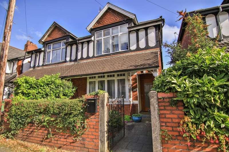 4 Bedrooms Semi Detached House for sale in Fidlas Road, Llanishen, Cardiff