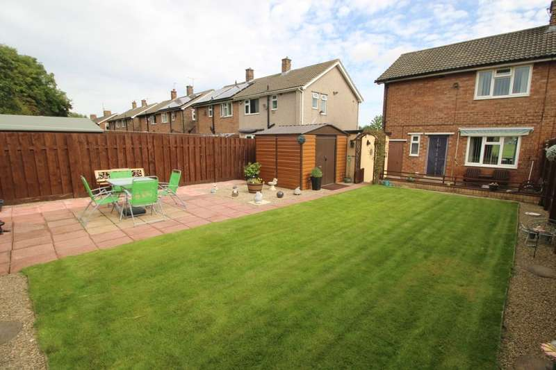 2 Bedrooms Semi Detached House for sale in Holgate Moor Green, Darlington, DL1