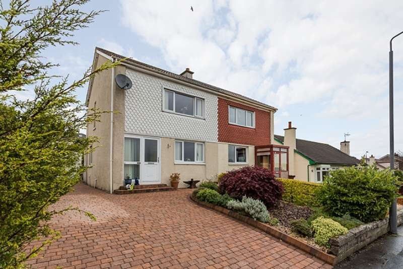 2 Bedrooms Semi-detached Villa House for sale in Dunvegan Avenue, Elderslie, Renfrewshire, PA5 9NL