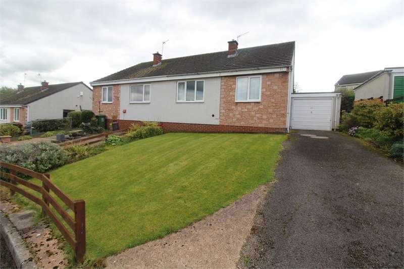 2 Bedrooms Semi Detached Bungalow for sale in CA11 8TH Willow Close, PENRITH, Cumbria