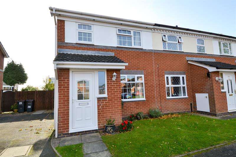 3 Bedrooms End Of Terrace House for sale in Heathlands Grove, Northfield, Birmingham