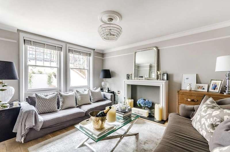 2 Bedrooms Flat for sale in Mornington Avenue, West Kensington, W14