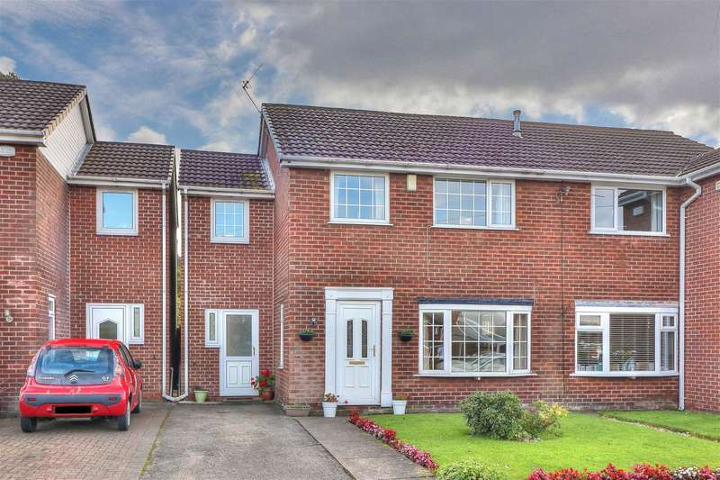 4 Bedrooms Semi Detached House for sale in Garden Way, Smithy Bridge, OL15 0ED
