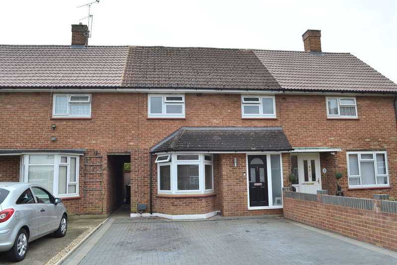 3 Bedrooms Terraced House for sale in Blackthorn Close, Garston Watford