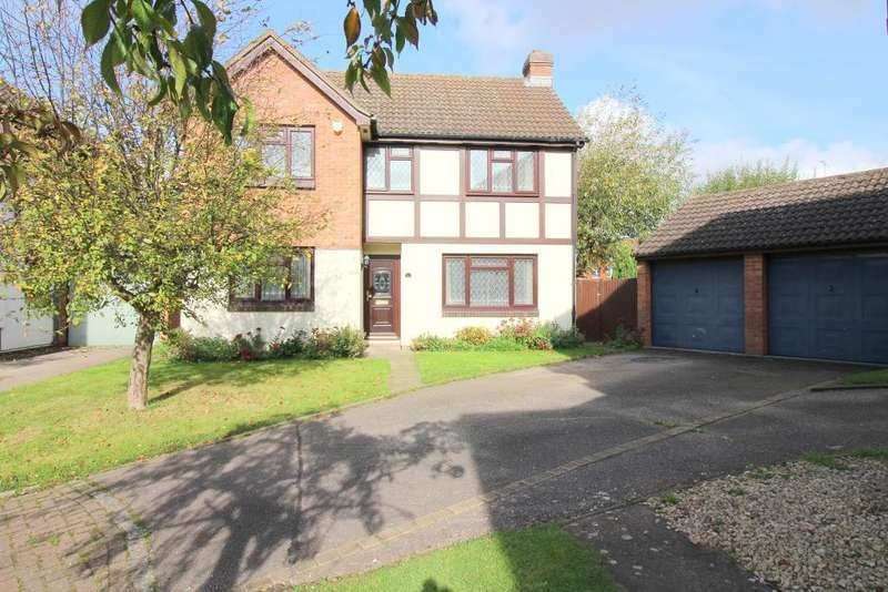 4 Bedrooms Detached House for sale in Bradshaws Close, Barton Le Clay, Bedfordshire, MK45 4JS