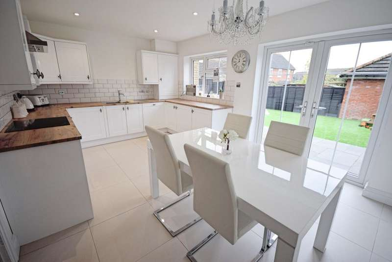3 Bedrooms Semi Detached House for sale in Belfield Gardens, Church Langley, Harlow, Essex, CM17 9QN