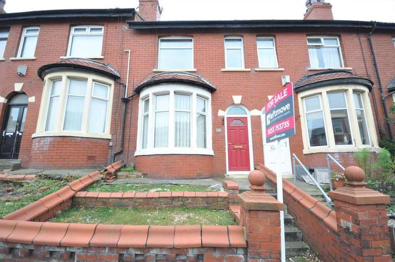 2 Bedrooms Terraced House for sale in Westmorland Avenue, Blackpool, Lancashire, FY1 5PF