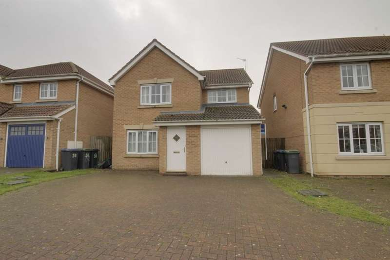3 Bedrooms Detached House for sale in Fenwick Way, Consett, DH8
