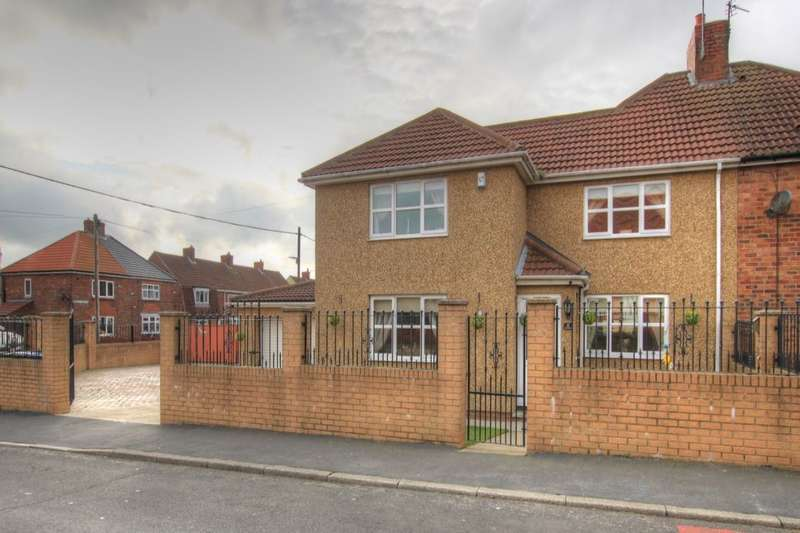 4 Bedrooms Semi Detached House for sale in Jack Lawson Terrace, Wheatley Hill, Durham, DH6