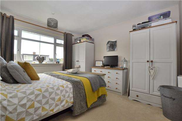 2 Bedrooms Semi Detached Bungalow for sale in Arundel Close, Tuffley, GLOUCESTER, GL4 0TW