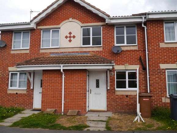 2 Bedrooms Terraced House for sale in Lake Terrace, Melton Mowbray
