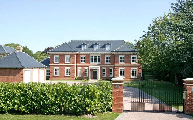 6 Bedrooms Detached House for sale in Stoneyfields, Farnham, Surrey, GU9