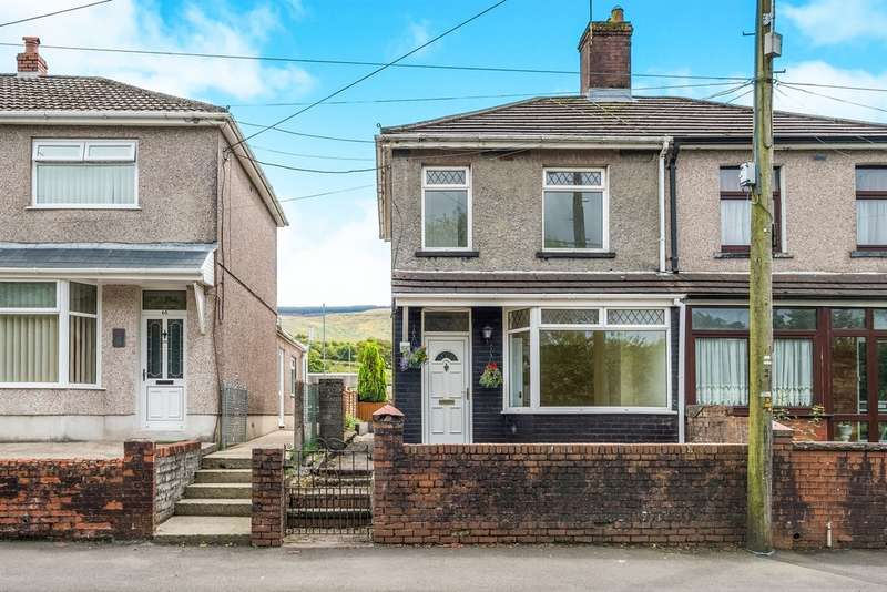3 Bedrooms Semi Detached House for sale in Dulais Road, Seven Sisters, Neath