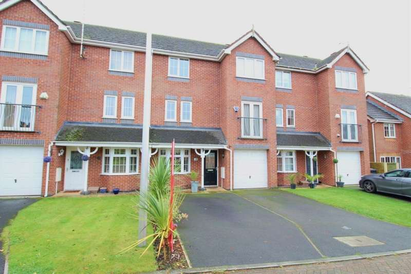 3 Bedrooms Terraced House for sale in Sheldon Drive, Macclesfield, SK11