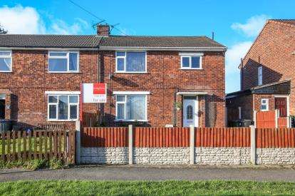 3 Bedrooms End Of Terrace House for sale in Laburnum Road, Rudheath, Northwich, Cheshire