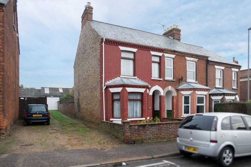 3 Bedrooms End Of Terrace House for sale in Suffield Road, Gorleston-On-Sea