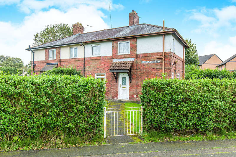 3 Bedrooms Semi Detached House for sale in Chestnut Crescent, Ribbleton, Preston, PR2