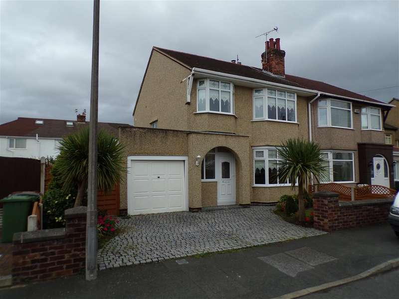 3 Bedrooms Semi Detached House for sale in Barmouth Road, Wallasey
