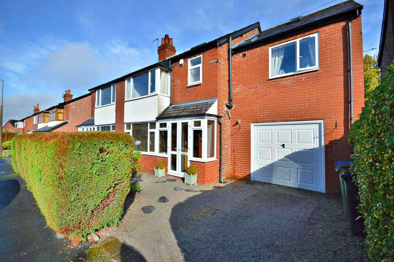 5 Bedrooms Semi Detached House for sale in Coral Road, Cheadle Hulme