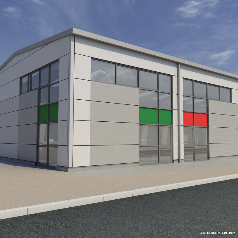 Warehouse Commercial for sale in Lynx 5, Lynx Building, Navigator Park, Ospey Quay, Portland, DT5 1DX