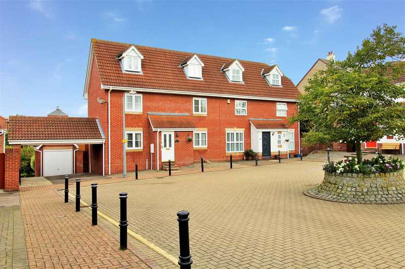 4 Bedrooms Semi Detached House for sale in Braithwaite Drive, Turner Rise, Colchester