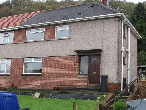 3 Bedrooms Semi Detached House for sale in Dan Y Bryn, Tonna, Neath, West Glamorgan