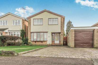 3 Bedrooms Detached House for sale in Dryden Crescent, Stevenage, Hertfordshire, England