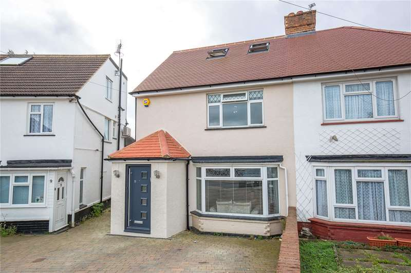 3 Bedrooms Semi Detached House for sale in Brookfield Crescent, Mill Hill, London, NW7