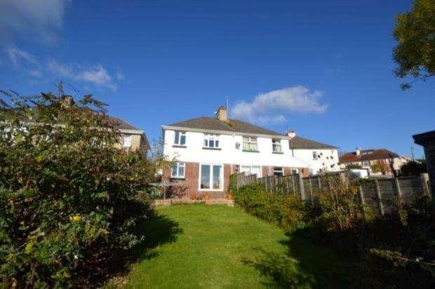 3 Bedrooms Semi Detached House for sale in Netley Road, Newton Abbot, Devon