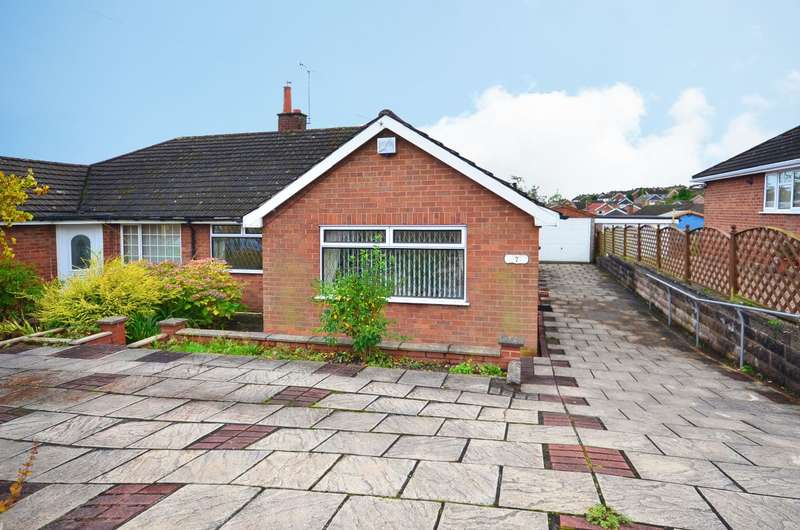 2 Bedrooms Semi Detached House for sale in Combe Drive, Meir Heath, Stoke-on-Trent, ST3 7LB