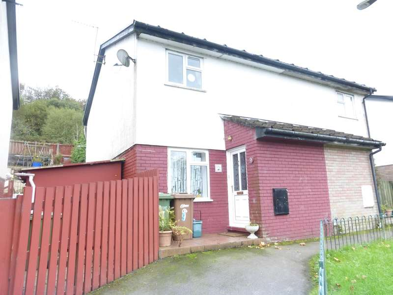 2 Bedrooms Semi Detached House for sale in Bronmynydd, Abertridwr, Caerphilly
