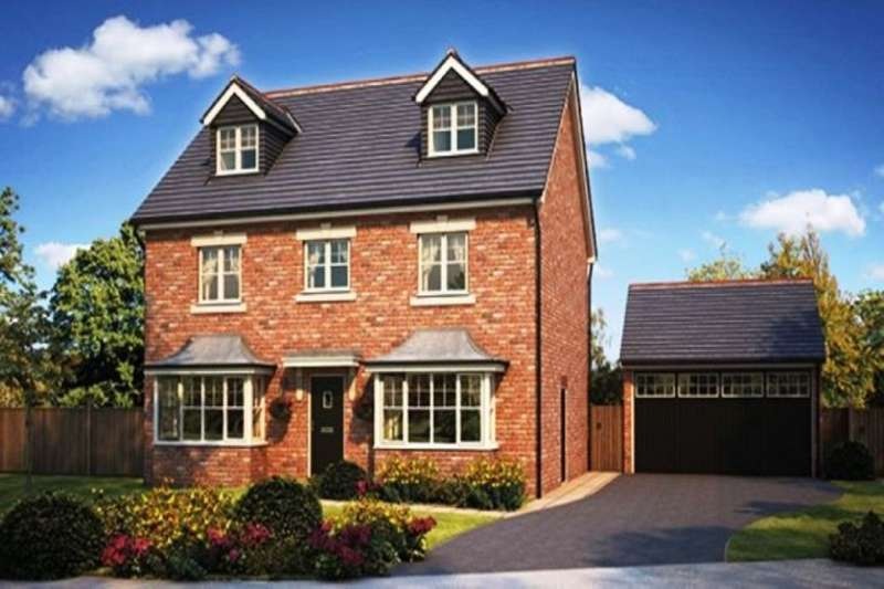 5 Bedrooms Detached House for sale in The Pastures Fleetwood Road, Wesham, Preston, PR4