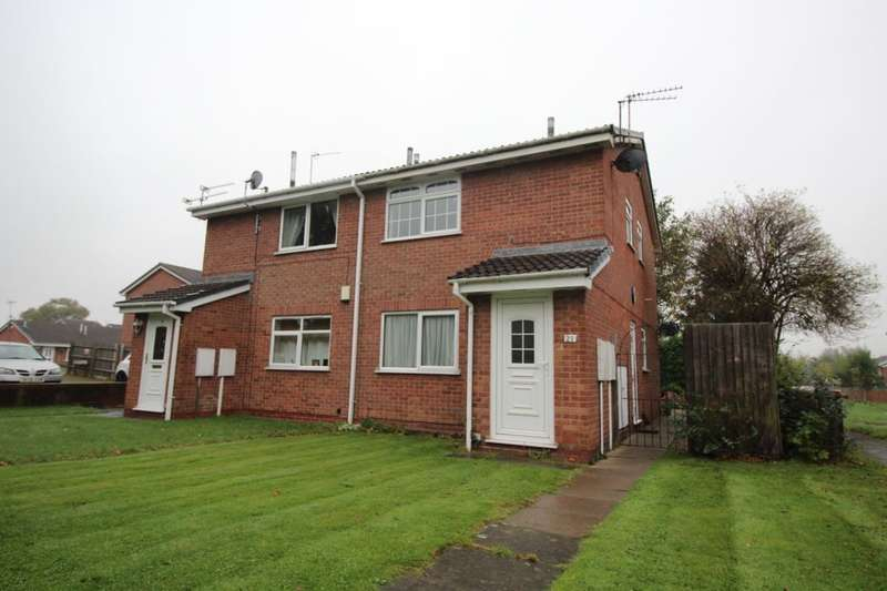1 Bedroom Flat for sale in Westminster Drive, Stretton, Burton-On-Trent, DE13