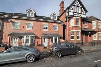 3 Bedrooms Town House for sale in De Brompton Villas , Newcastle, Staffs , ST5 2BD