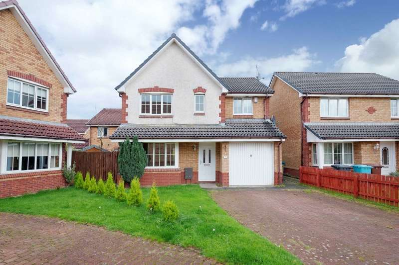4 Bedrooms Detached Villa House for sale in Mulberry Crescent, Chapelhall, Airdrie, North Lanarkshire, ML6 8GJ
