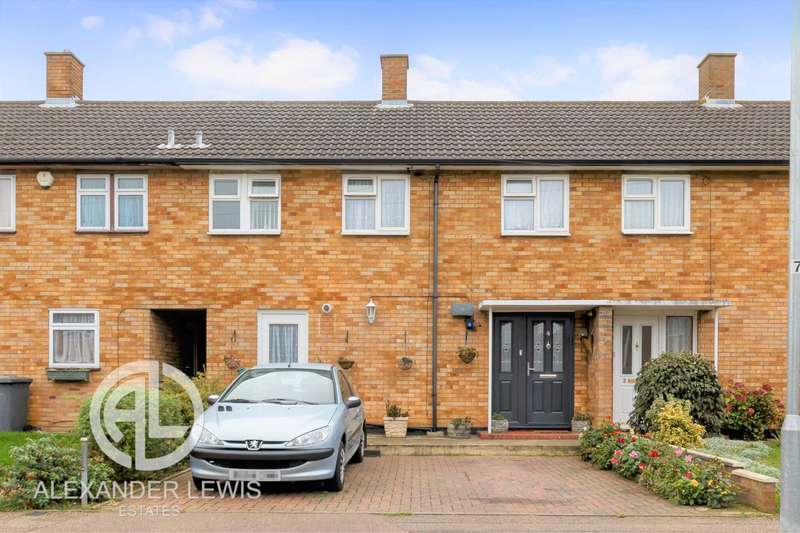 3 Bedrooms Terraced House for sale in Heathermere, Letchworth Garden City SG6 4QH