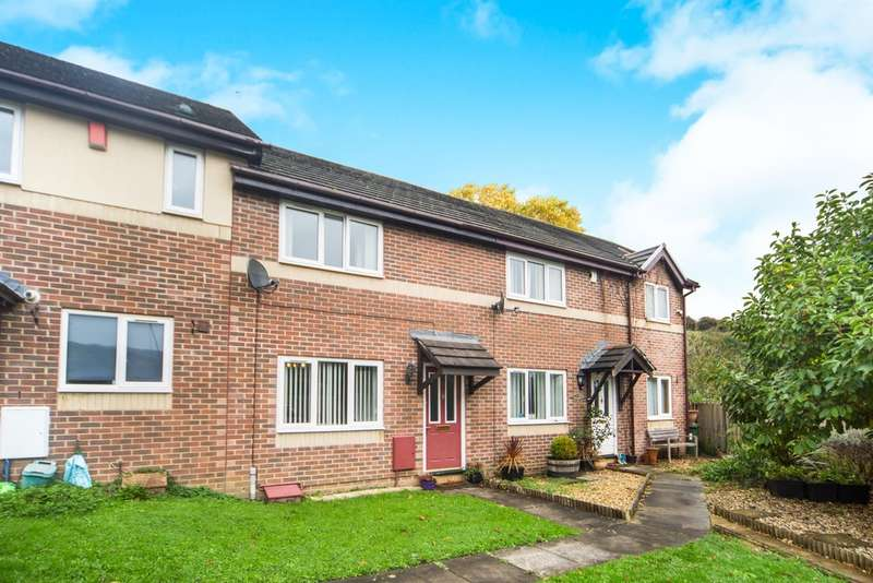 2 Bedrooms Terraced House for sale in Min Yr Afon, Machen, Caerphilly