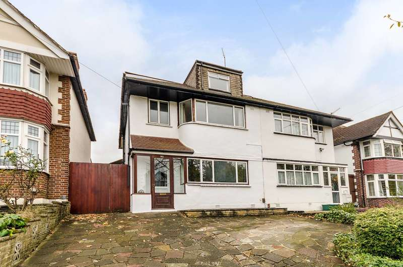5 Bedrooms Semi Detached House for sale in Manor Drive North, New Malden, KT4
