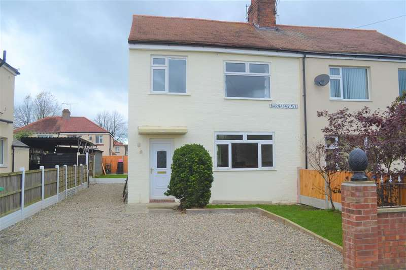 3 Bedrooms Semi Detached House for sale in Barnabus Avenue, Crewe