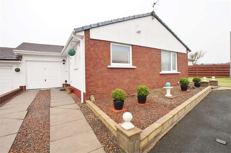 2 Bedrooms Link Detached House for sale in CA28 8XP Kestrel Grove, Moresby Parks, Whitehaven, Cumbria
