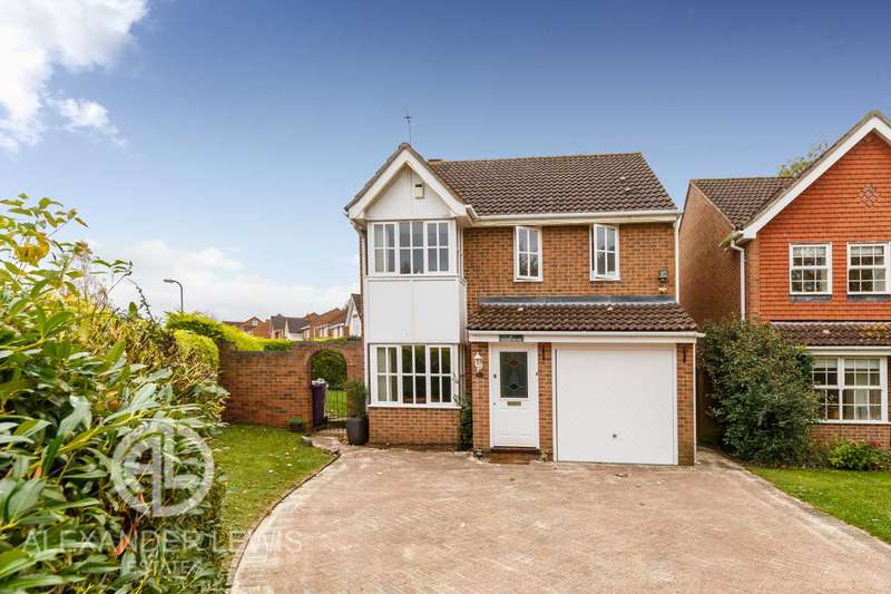 3 Bedrooms Detached House for sale in Quinn Way, Letchworth Garden City SG6 2TX