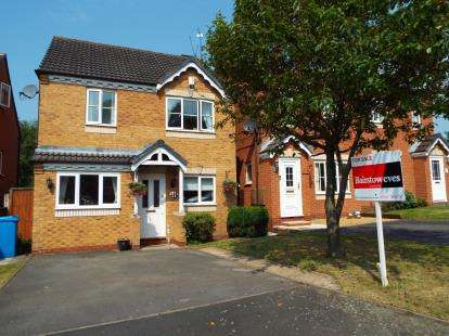 3 Bedrooms Detached House for sale in Teddesley Way, Huntington, Cannock, Staffordshire